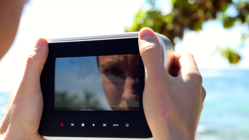 BMCC Screen Glare Blackmagic Cinema Camera: 10 Important Things I Wish I Had Known blog
